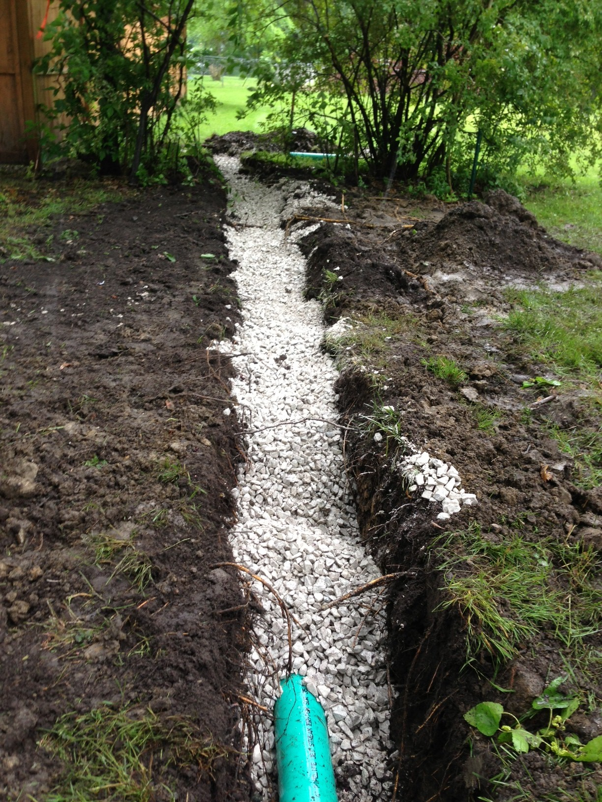 Bruno and Sons Contractors, Inc. - Yard Drainage.